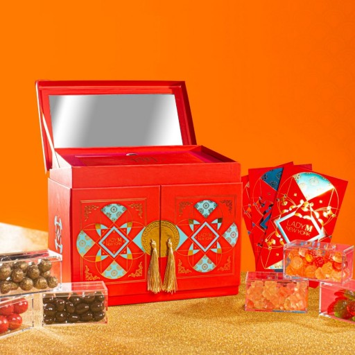 Lady M New York Unveils 2020 Lunar New Year Candy Chest