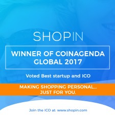 Shopin wins Coinagenda Global 2017, best Startup and ICO