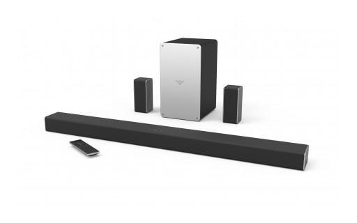 VIZIO Introduces All-New 2017 Sound Bars to the Canadian Market, Featuring High-Caliber Home Theater Audio Performance