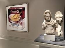 ANDY WARHOL CAMPBELL'S SOUP BOX and ROMAN MARBLE HERCULES