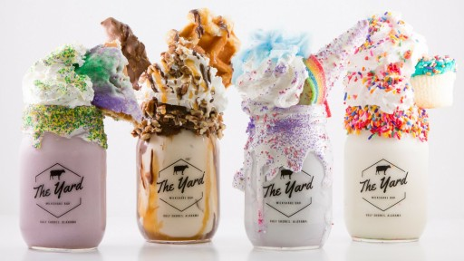 These Milkshakes Will Bring You to 'The Yard Milkshake Bar'