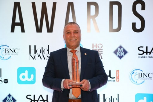 Ghassan Aboud Awarded as the Leading Hospitality Investor by Hotel News ME
