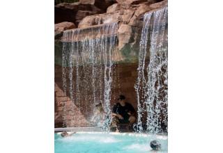 Hanging Lake Waterfall at Glenwood Hot Springs Resort