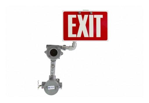 Larson Electronics Releases Explosion-Proof LED Exit Sign, CID1&2, IP65, 120V-277V AC, 8-Inch Letters
