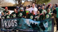 Drug-Free World march in Sophiatown South Africa