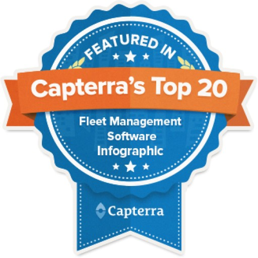 "RASTRAC Listed on Capterra's Infographic for ""Top 20 Most Popular Fleet Management Software Solutions"""