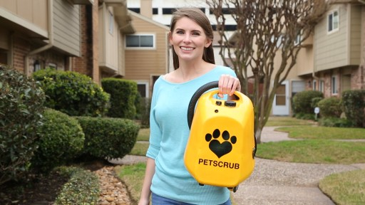 World's First 'Pressure Washing' System for Dogs Launches Kickstarter Campaign