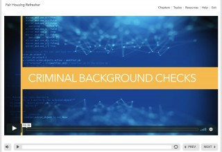 Example: Updated Criminal Background Check Guidance