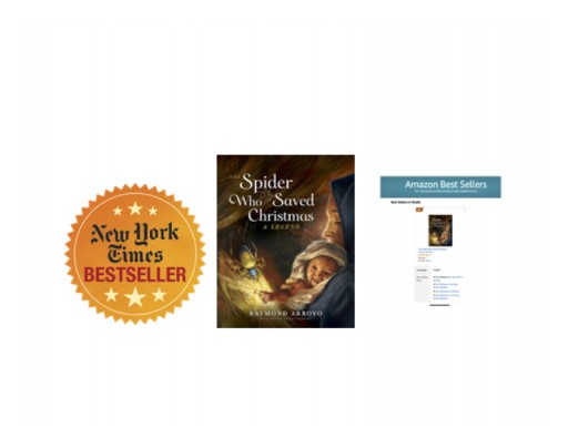 THE SPIDER WHO SAVED CHRISTMAS Spins Way onto New York Times and USA Today Best Seller Lists With Stunning Opening Week of Release Performance