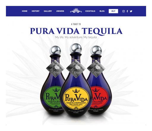 Cutting Edge Tequila Company Launches Brand New Website With Innovative Shop N Go Options