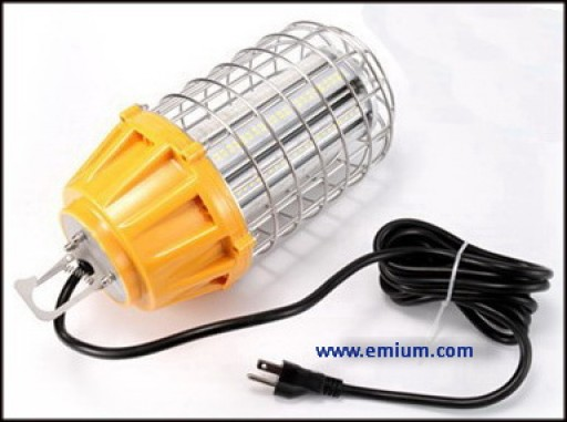 Emium Lighting Delivers LED Temporary High Bay Lighting to the Job Site