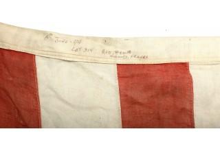 WWII D-DAY INVASION FLOWN FLAG LST 314