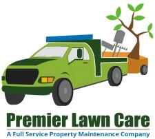 premier lawn care logo
