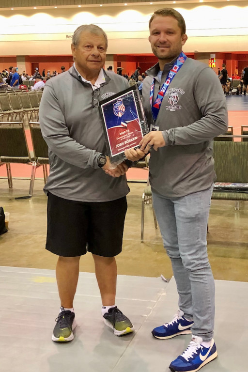 Cleveland's Higher Calling Youth Wrestling Coach Bosken Wins 2021 National AAU Coach of the Year