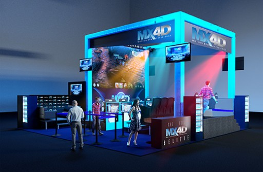 MediaMation MX4D® Debuts the World's First MX4D Motion & EFX Esports Gaming Theatre at E3 in Los Angeles