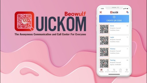 How to create your QUICKOM QR code for anonymous communication