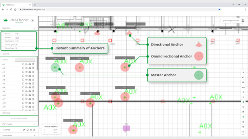 Sewio's RTLS Planner is Now Generally Available
