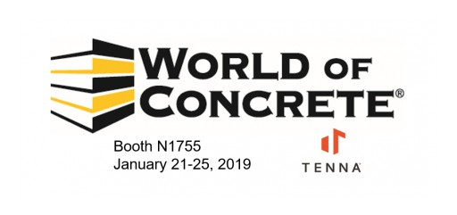 TENNA Will Exhibit at World of Concrete and Showcase New GPS Tracking Product