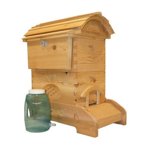 HB Hive Co. Protects Honeybees with Inventive Beehive and Beehive Feeder