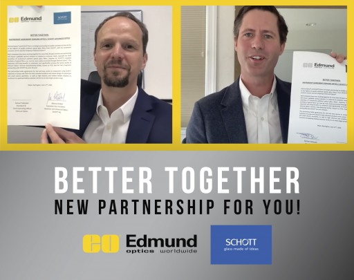 Better Together: Partnership of Two Industry Leaders Provides Fast and Easy Access to Optical Filters