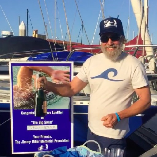 Former Navy Seal Completes First-Ever Swim From San Clemente Island to Catalina Island to Create Awareness for Disabled Veterans