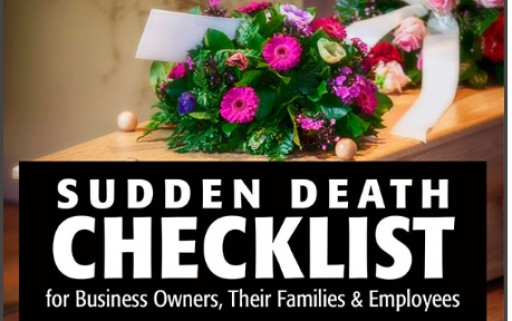 Sudden Death Checklist by Internationally Recognized Business Consultant Releases First Podcast