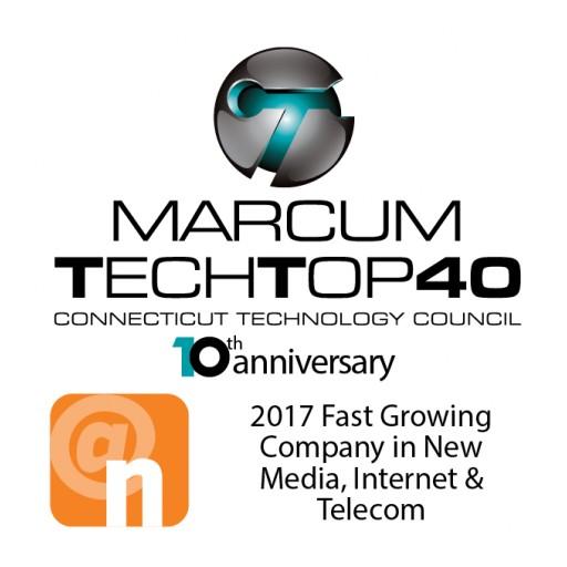MediaCrossing, Inc. Recipient of Marcum Tech Top 40 Award