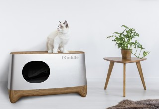 iKuddle Auto Pack Litter Box