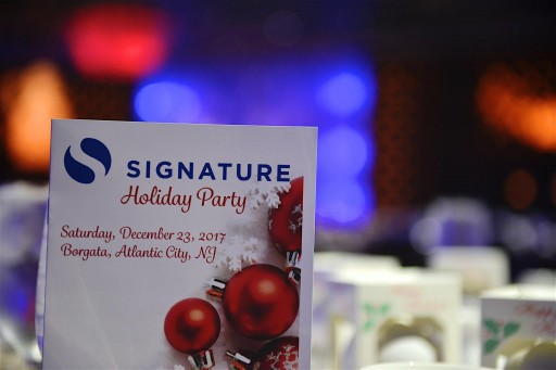 Signature, Inc's Holiday Party Reflects Commitment to Giving