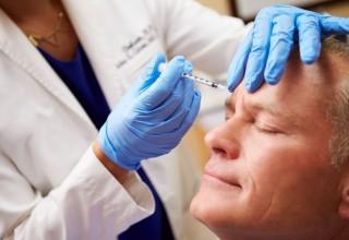 Men Getting Botox