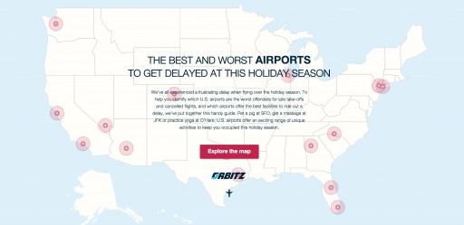 These Are the Best and Worst Airports to Get Delayed at This Holiday Season