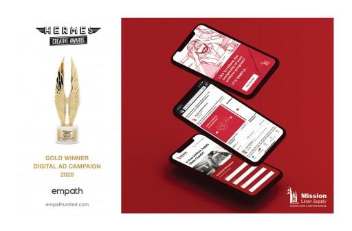 Mission Linen Supply Celebrates 90-Year Anniversary, Earns International Marketing Award