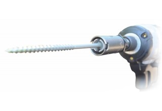 The SHUR-A-TAK impact driver attachment is a precision tool that can save you time and money.