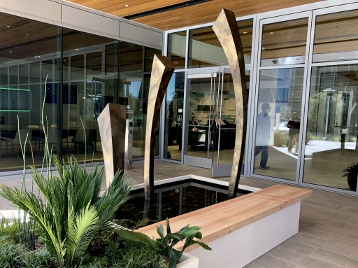 Newest Wiedmann Original Sculpture Unveiled at Hewlett Packard Enterprise Headquarters