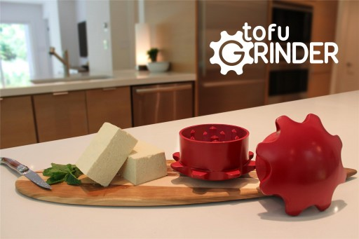 It's a Tofu Revolution! Introducing the Tofu Grinder - Quick & Easy Ground Tofu