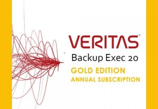 Veritas Backup Exec 20 Annual Subscription Gold Edition