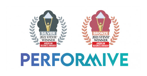 Performive Honored as Multiple Stevie® Award Winner in 2021 American Business Awards®
