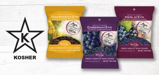 Wine RayZyn to Announce Kosher Certification for RayZyn Snacks at Summer Fancy Food Show in NYC