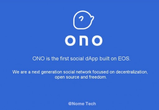 Meet eosONO: An EOS Block Producer Candidate