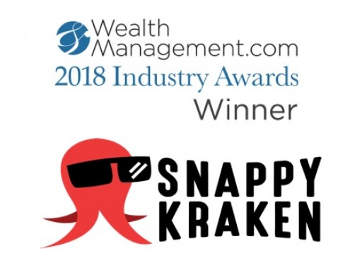 Snappy Kraken Named WealthManagement.com 2018 Industry Awards Winner