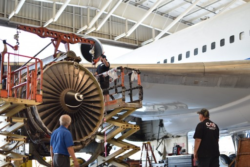 CAS Successfully Performs 12-Year Heavy Maintenance Check
