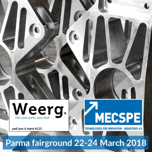 Weerg's Innovation Debuts at Mecspe 2018