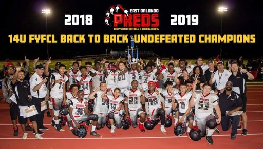 East Orlando Preds AAU's 14U National Champions Head to NFL Championship Game