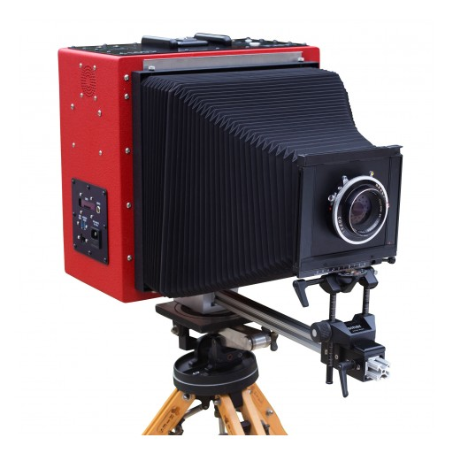 LargeSense Launches the First Full Frame 8x10 Digital Single Shot Camera for Sale