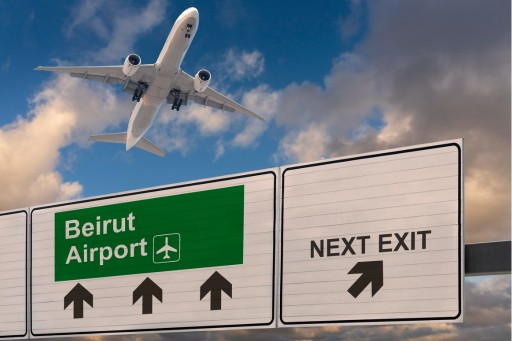 Beirut International Airport Installs INDECT's World-Class UPSOLUT Parking Guidance System