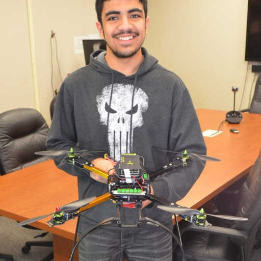 NDSU Students Are First North Dakota Team to Compete in International Aerial Robotics Competition