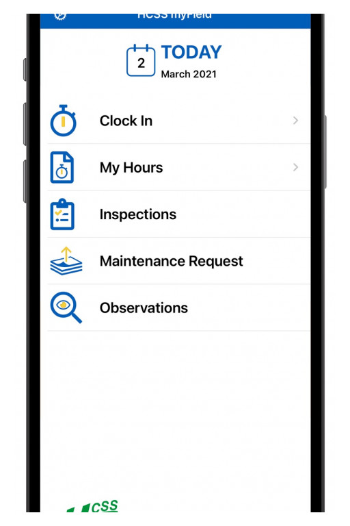 HCSS Introduces myField Mobile Time Tracking and Engagement App