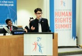 On August 26, youth delegates and ambassadors will attend a day-long Youth for Human Rights leadership workshop.