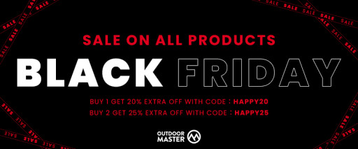 OutdoorMaster Announces Start of Its Highly Anticipated Black Friday and Cyber Monday Sale