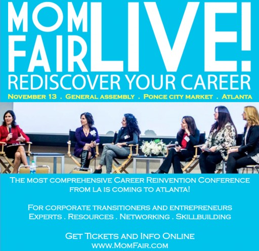 MomFair LIVE!  is Coming to Atlanta on Sunday, November 13th